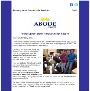 ABODE - Newsletter