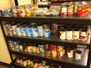 See how your empty soda cans are transformed into Food cans for our friends....